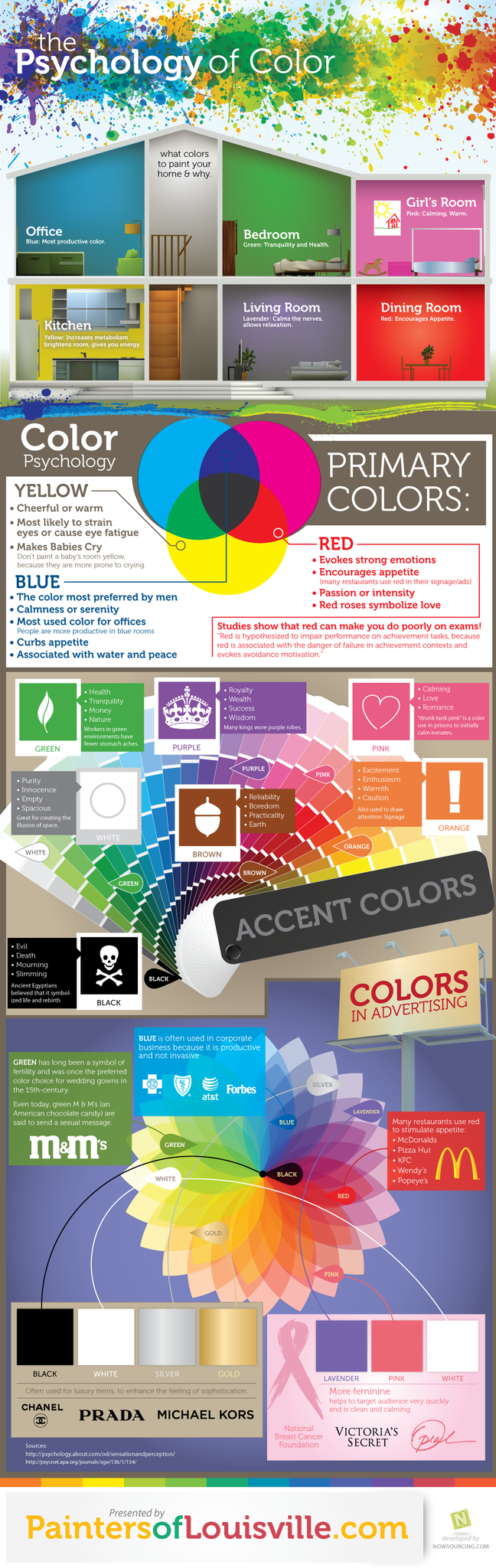 What Color To Paint Your  Home And Why Infographic