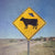 Alien Cow UFO Funny Street Sign Print - Catch A Star Fine Art
