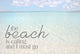 July 2019 - BEACH QUOTES Postcard Set - Catch A Star Fine Art