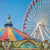 Chicago Navy Pier Whimsical Amusement Park Ferris Wheel Urban Art - Catch A Star Fine Art