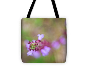 Abstract Pink Bloom - Tote Bag