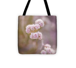 Blush Pink Botanical Desert Blooms - Tote Bag