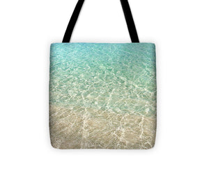Caribbean Waters Tote Bag - Catch A Star Fine Art