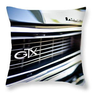 Classic Plymouth GTX Muscle Car - Throw Pillow