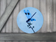 Round Art Sticker - Dragonfly - Catch A Star Fine Art