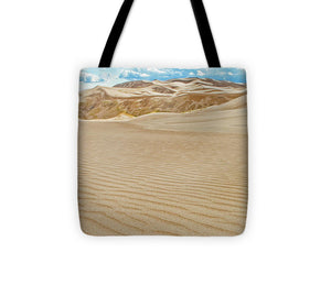 Great Sand Dunes Landscape #10 - Tote Bag
