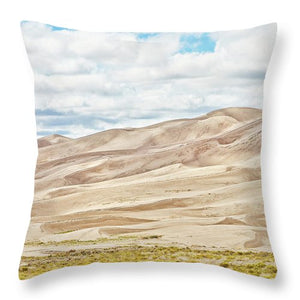 Great Sand Dunes Landscape #5 - Throw Pillow
