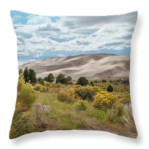 Great Sand Dunes #6 - Throw Pillow