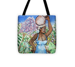 Key West Mural Street Art - Tote Bag