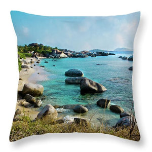 Little Trunk Bay - Throw Pillow