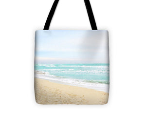 Miami Beach Shoreline #1 - Tote Bag