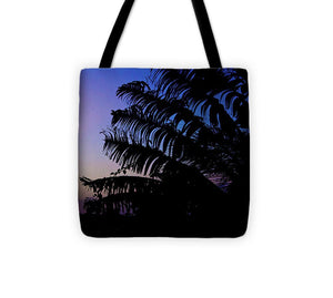 Palm Sunset Tote Bag - Catch A Star Fine Art