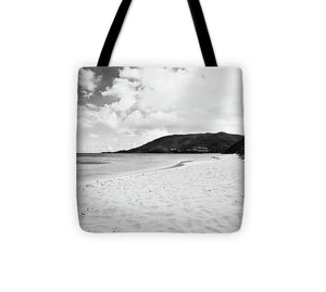 Savannah Bay #1 - Tote Bag (black & white)