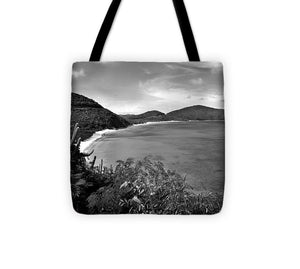 Savannah Bay Overlook - Tote Bag (black & white)