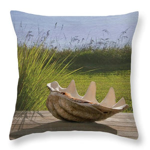 Seashell Pillow - Catch A Star Fine Art