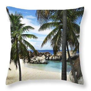 Tropical Bay Pillow - Catch A Star Fine Art