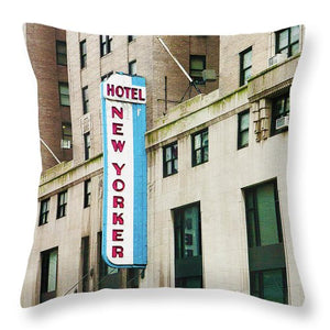 The New Yorker Hotel - Throw Pillow
