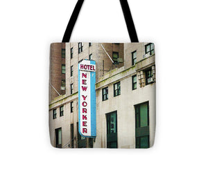 The New Yorker Hotel - Tote Bag