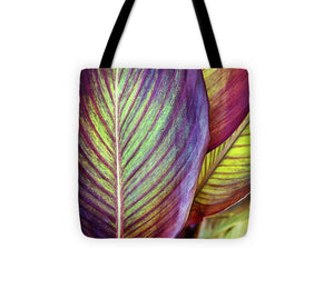 Tropical Leaf #3 - Tote Bag