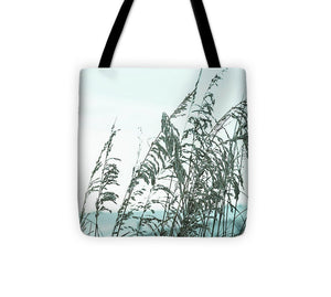Turquoise Beach and Sea Oats #1 - Tote Bag