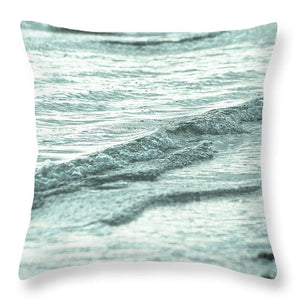 Turquoise Water #1 - Throw Pillow
