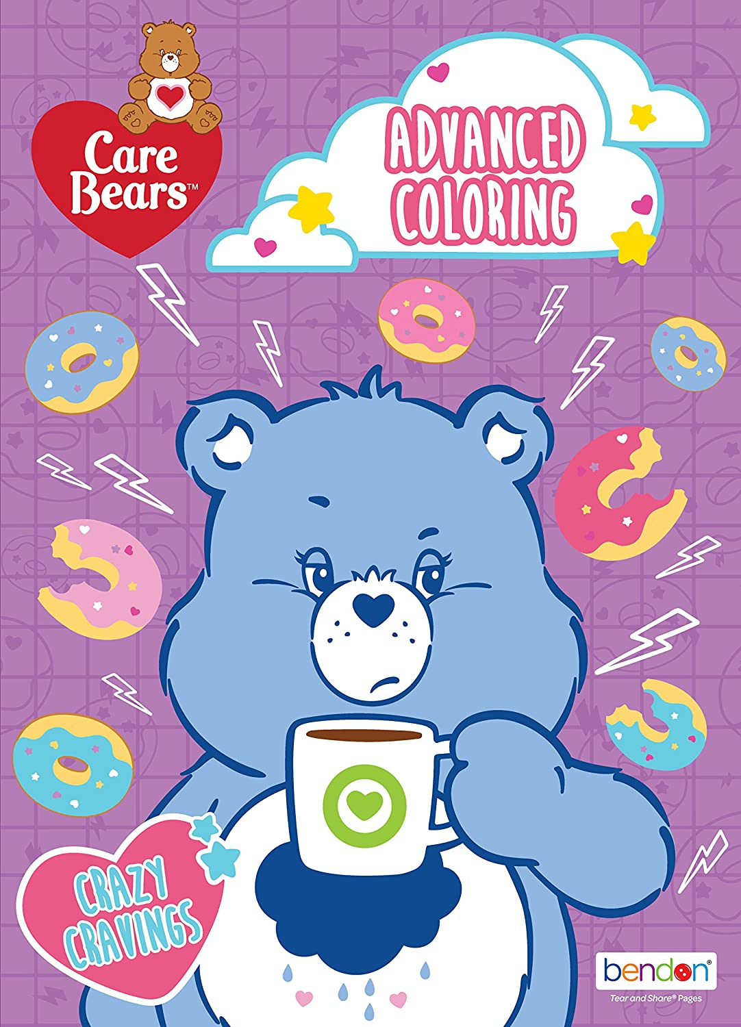 Care Bears Retro Advanced Coloring Book