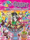 Lisa Frank Giant Sticker Activity Book