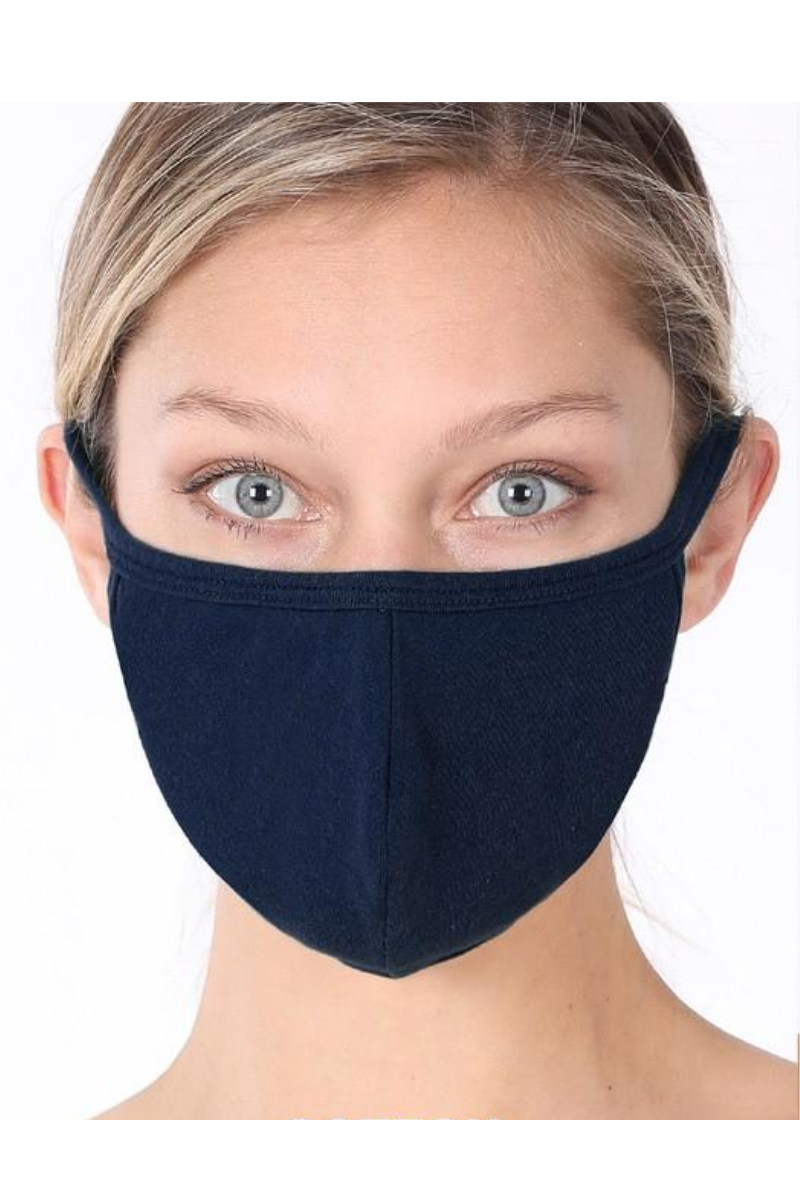 Adult Mask, Navy