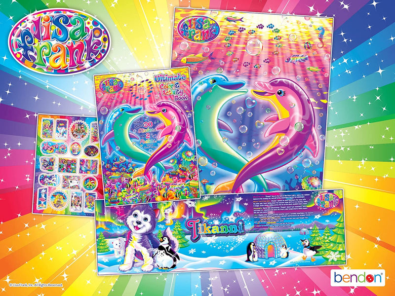 Lisa Frank Ultimate Activity Poster Book