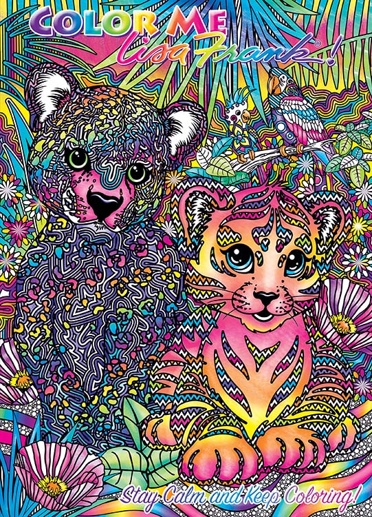 Adult Coloring Book - Lisa Frank
