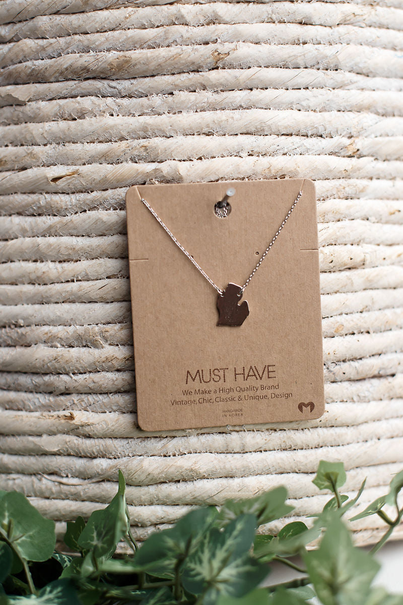 Michigan Manhattan Necklace~ Restock