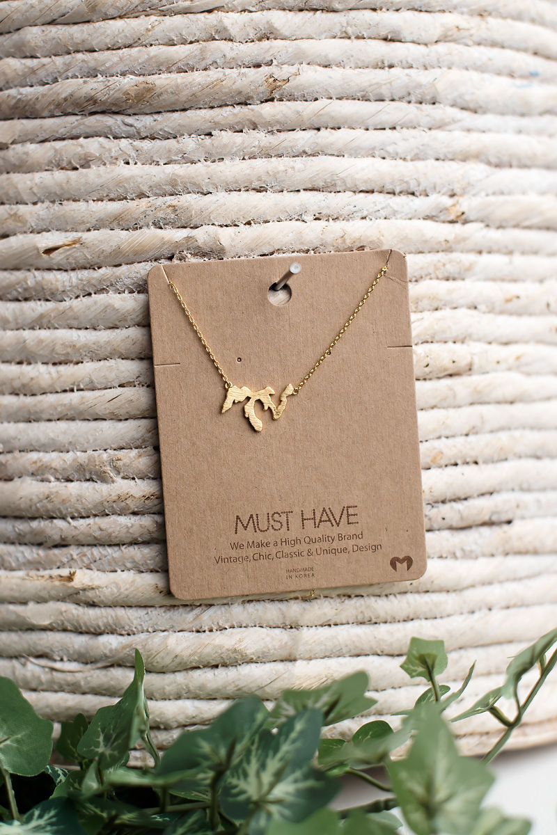 Great Lakes Necklace ~ Restock