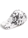 Tie Dye Cap, White and Black