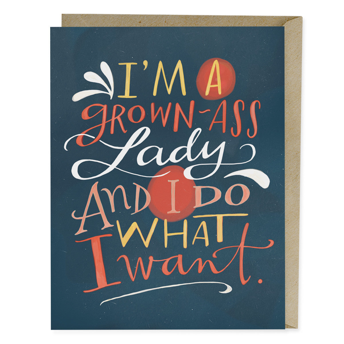 Grown-Ass Lady Card