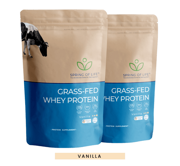 100% Grass-Fed Natural Whey Protein