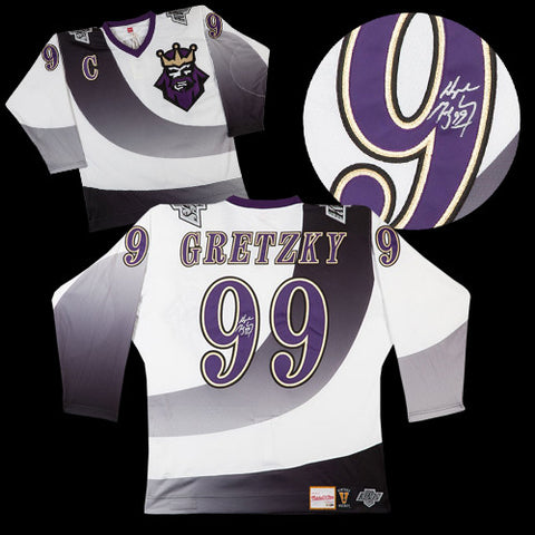 35a804da1 Wayne Gretzky Los Angeles Kings Autographed