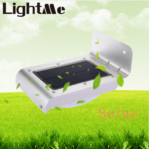 LED Solar Light Waterproof Energy Saving Wall Light with Motion Sensor