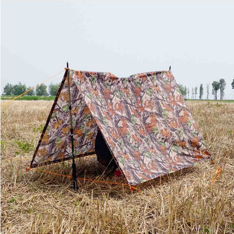 3 in 1 Multifunctional Raincoat Travel Cover Waterproof Tent