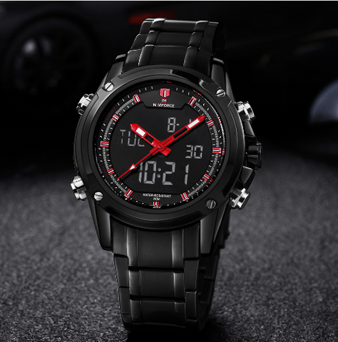 Naviforce Luxury Brand Men's Military Sports Watch