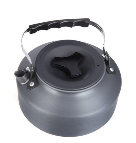 1.1L Portable Ultra-light Camping Picnic Teapot Coffee Water Kettle