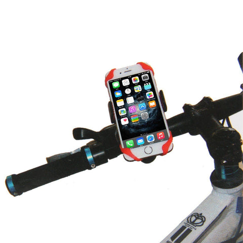 Universal Smartphone 360 Degree Silicone Bike Mount Holster