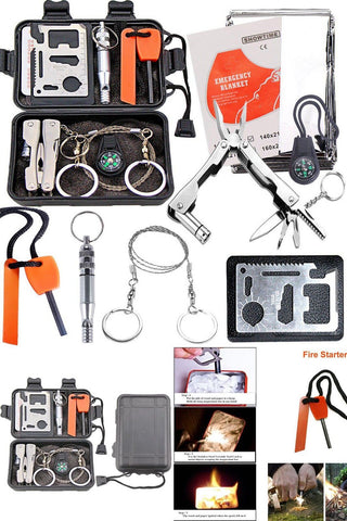 Survival Kit Camping Outdoor Emergency Gear