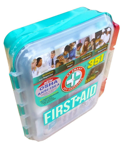 New 351 pc Emergency First Aid Kit Workplace OSHA ANSI