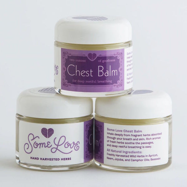All-natural Ingredient List for Chest and Sinus Balm