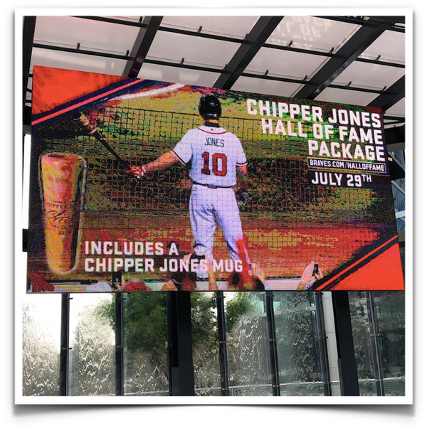Chipper Jones - Hall of Fame Dugout Mugs