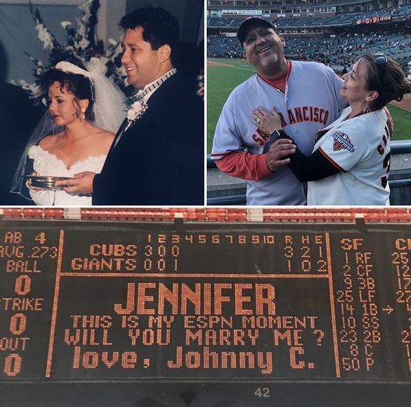 Out of the Park Proposals and our Favorite Baseball-Related Love Stories