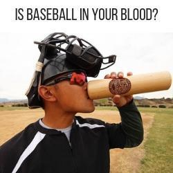 Baseball In Your Blood | Baseball Bat Mug | Dugout Mug™