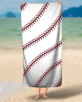 Baseball Beach Towel From Brave New Look