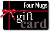 Four Pack Mugs Gift Card