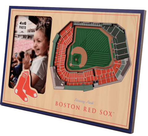 fathers day gift for new dad ideas - boston red sox photo frame